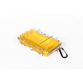Peli MicroCase 1040 Pudło żółty/przezroczysty
